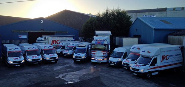 JRC Express Couriers Fleet