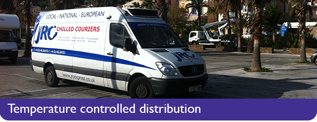 Temperature Controlled Couriers