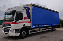 18t Lorry with Tail Lift