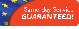 Same day Service Guaranteed